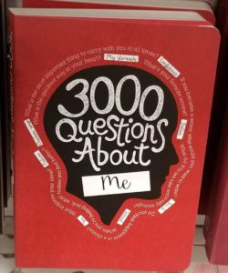 Mom Journal 3000 Questions About Me