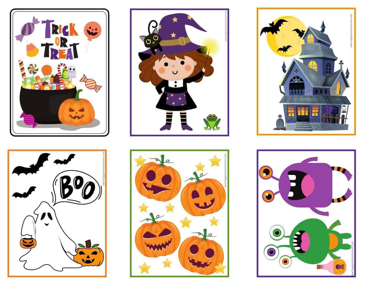 preview photos of halloween puzzles